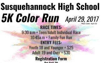 Student Council to Hold Second Annual Color Run