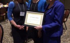 Dr. Lemmon Awarded  Outstanding School Administrator Award