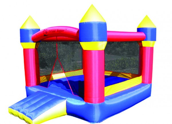 Big bounce house: the bounce house featured in the tailgating flyer distributed by the student council the week prior to the homecoming dance.