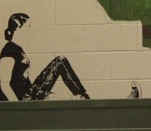 Art students create a brighter school