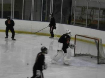 Ice hockey skates to success