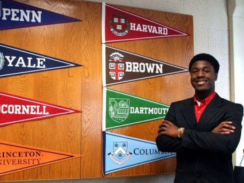 New York senior is accepted to all Ivy Leagues