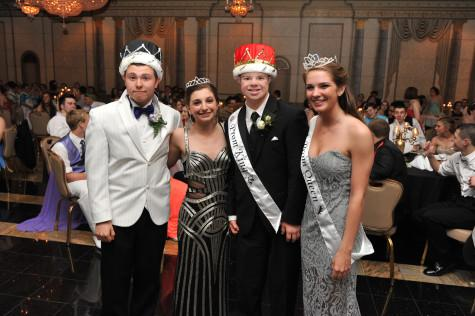Royalty was crowned at Susquehannock's prom