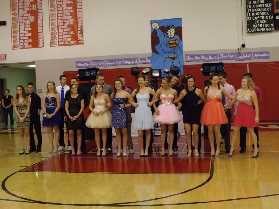 Homecoming Court Revealed