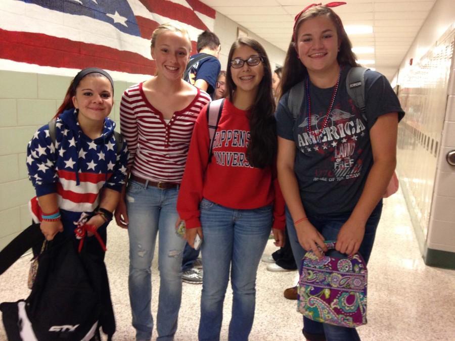 Tuesday's Spirit Day: USA Day