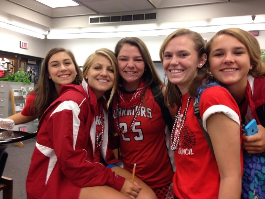 Friday's Spirit Day: Red and White Day
