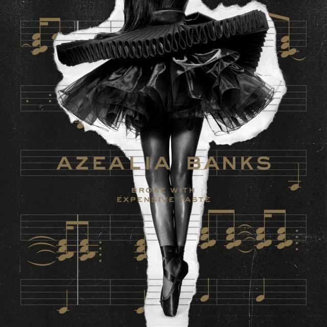 Cover art for Azealia Banks' Broke With Expensive Taste. Azealia Banks / Prospect Park