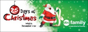 ABC Family presents the 25 Days of Christmas
