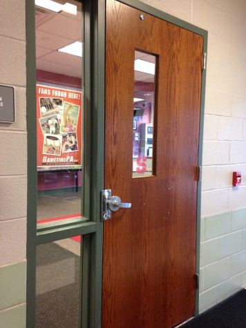 Students may enter the main office and speak to principals or secretaries in the event of an incident.  Photo By: Grace Burns