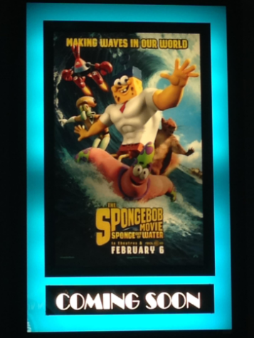 The poster for the new movie. Photo credit to Ally Lilly
