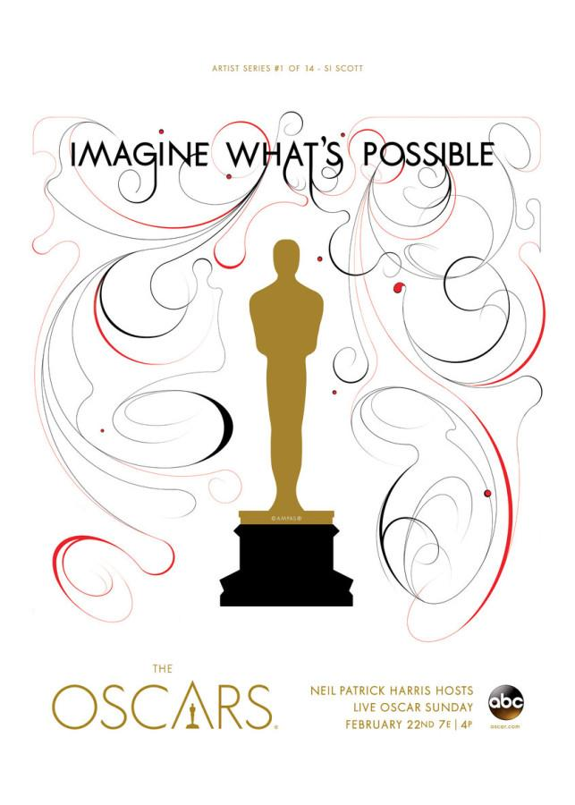 A poster for the Oscars, which premieres on Feb. 22. Courtesy ABC.