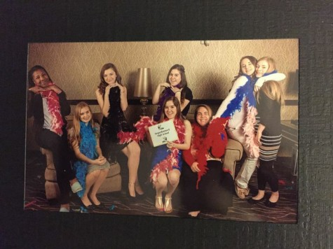 The girls were able to take a group picture in a studio that was set-up for them while at the event.