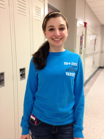 Anelli will write a closing speech for graduation as class president. Photo By: Grace Burns
