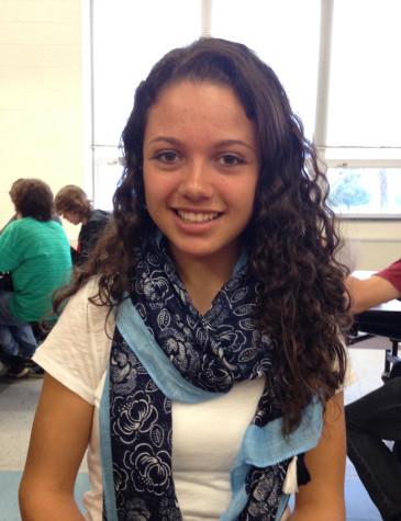 Junior Julianne Martinez
