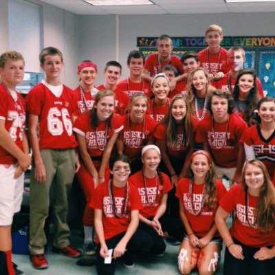 Susquehannock's student council works hard to plan school activities and demonstrate Warrior Pride. Photo courtesy of SHS Student Council.
