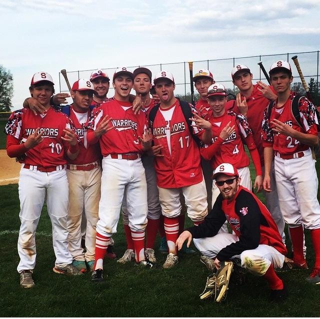 The 2015 baseball team finished 8-11. Photo courtesy of Nathan Houser via Instagram