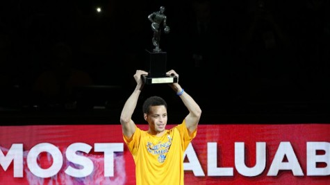 The NBA MVP: Stephen Curry