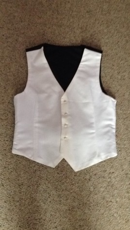 Bradford's vest that was entered into the contest.