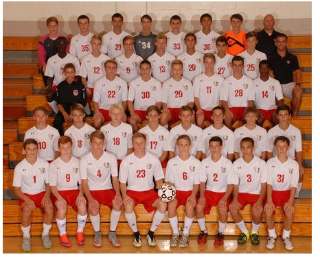The 2015 Varsity/JV Boys Soccer Team