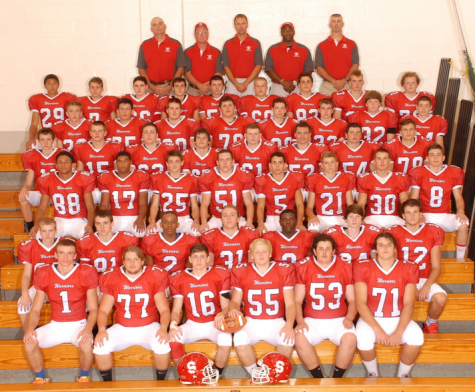 The 2015 Varsity Football Team