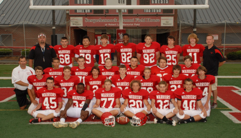 The 2015 Junior High Football Team