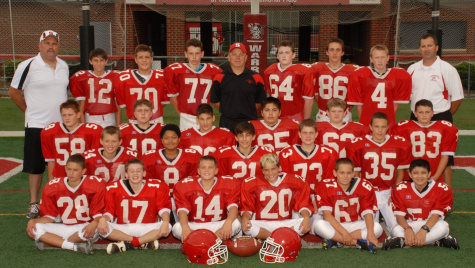 The 2015 JV Junior High Football Team