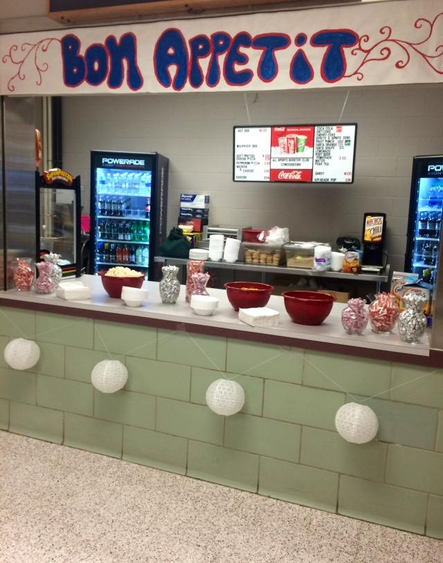 For+the+dance%2C+the+concession+stand+was+used+to+provide+snacks+to+those+attending+Homecoming.+Photo+by%3A+Logan+Garvey