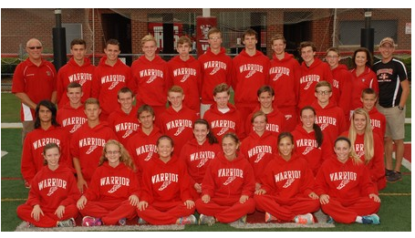 The 2015 Cross Country Team