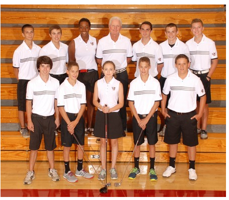 The 2015 Varsity Golf Team