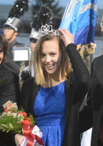 Keuler Crowned Homecoming Queen