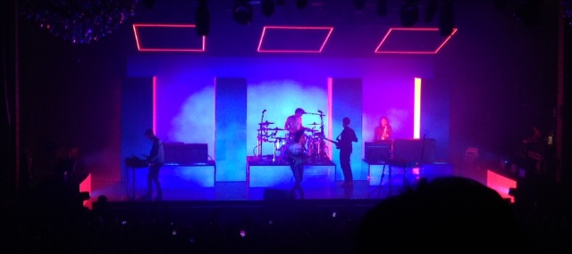The 1975 had a different light scheme for each song of their's.