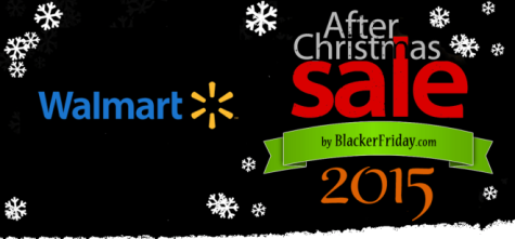 Walmart's after Christmas sale will hold deals on many of their items.