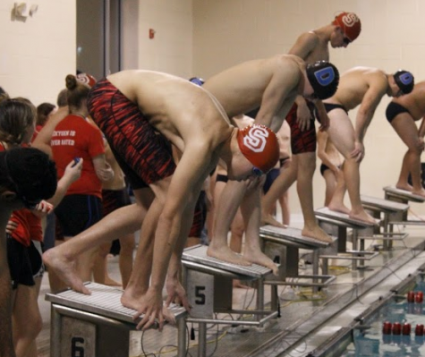 Swim Team Carries Spirit