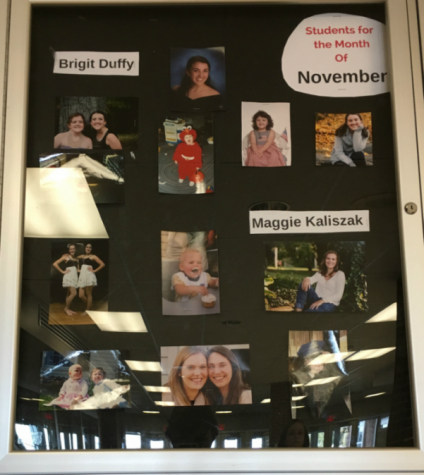 Students of the Month: Above and Beyond