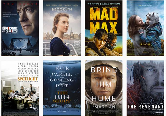 These+eight+movies+will+compete+neck+and+neck+to+see+which+will+come+out+on+top+at+the+Academy+Awards.