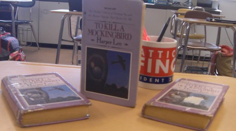 Students in the sophomore year read over the literary classic at some point during the year. Photo by: Ariel Barbera