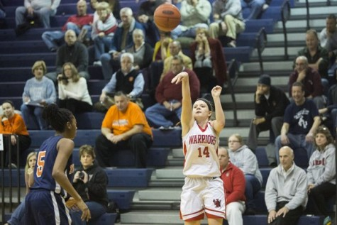 Taylor Tannura releases the shot. Photo By; GameTimePa