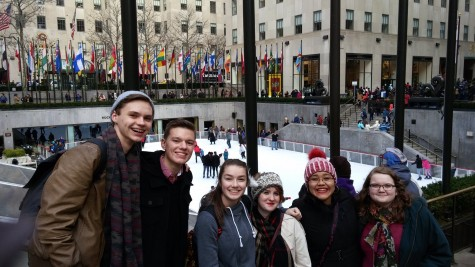 Music Department Hits NYC