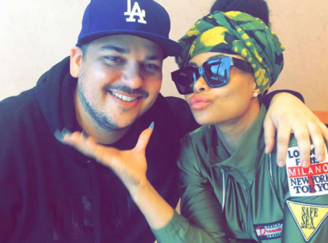 Rob Kardashian pictured with new girlfriend. Photo Rob Kardashian