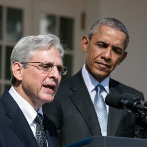 President Obama nominated Merrick Garland in mid-March. Photo by The White House - The White House, Public Domain, https://commons.wikimedia.org/w/index.php?curid=47588182