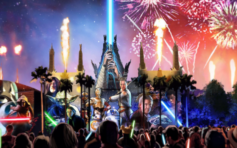 This photo can be found of Disney brochures advertising for the firework show.