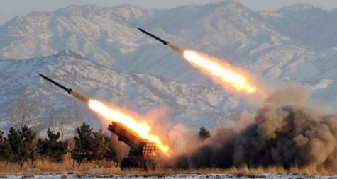 www.bbc.co.uk covered this news topic gathering pictures of the missiles North Korea sent.