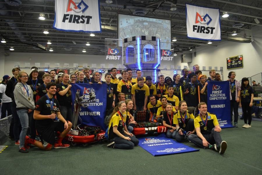 Students Lead Robotics Club to Victory