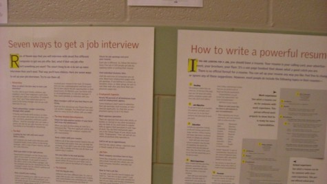Interviewers look for the best applications and outgoing appliers. Photo by: Ariel Barbera