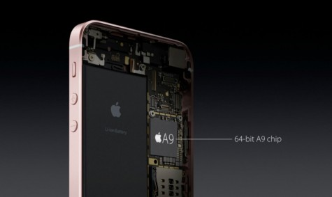 The New A9 chip for the iPhone. Photo By Blefort (Own work)