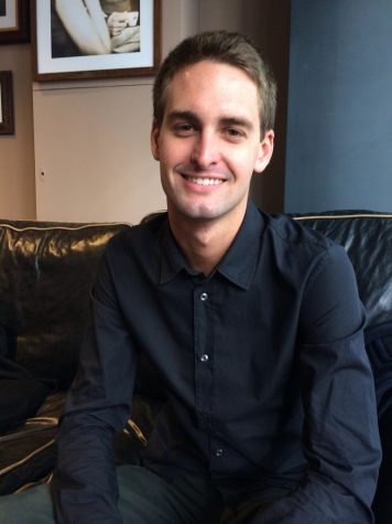Evan Spiegel- Founder Of Snapchat Photo By cellanr (Flickr: Evan Spiegel, founder of Snapchat)