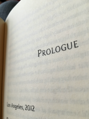 Upon opening Cassandra Clare's latest novel, ecstatic readers were greeted with this page.