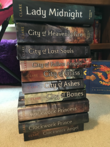 In total, there are ten novels within the Shadowhunters canon that have been released to the public.