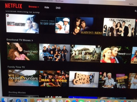 Current TV shows and movies on Netflix before some get removed.