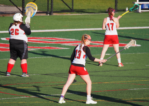 Girls Lacrosse Game Ends in Defeat